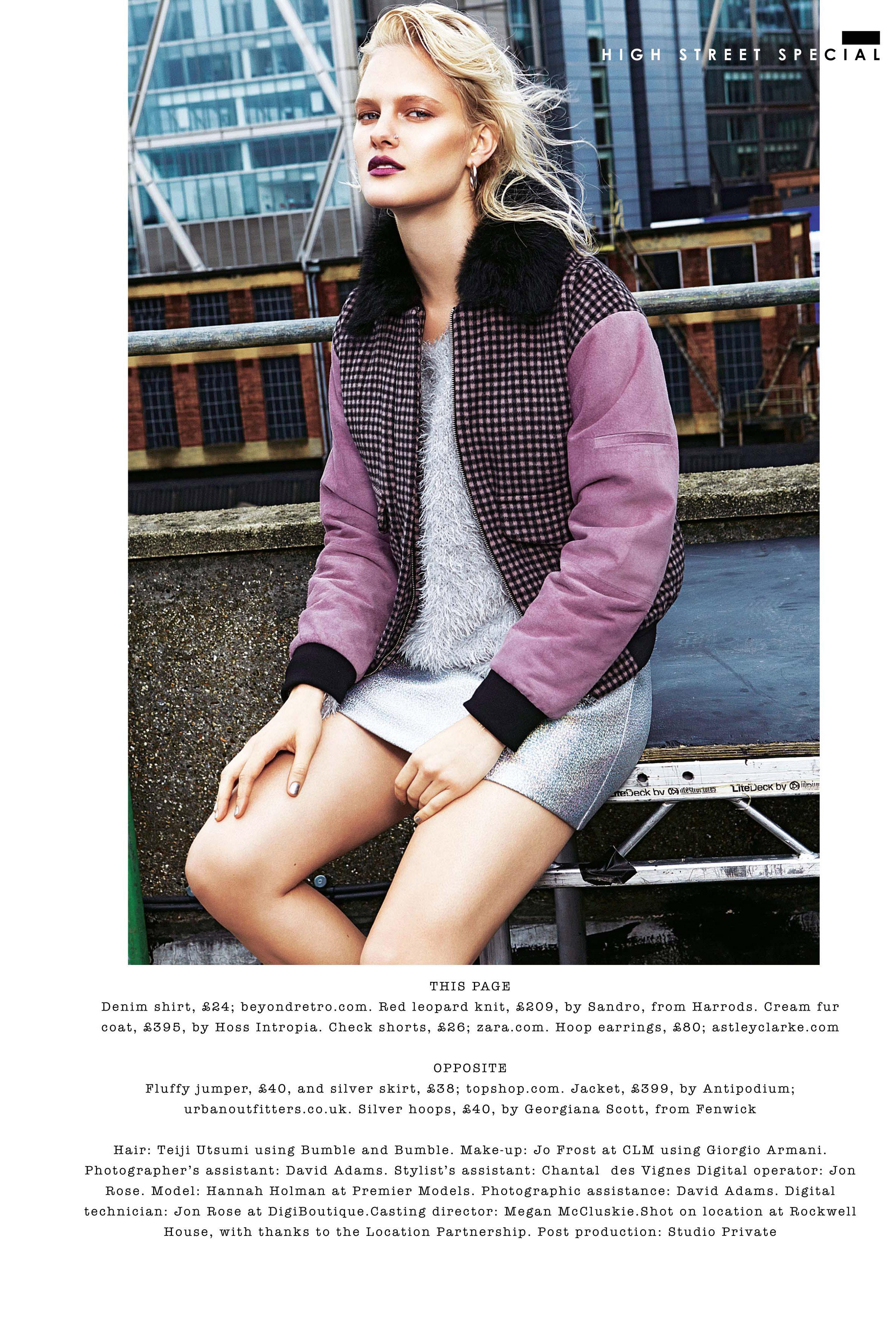 Hannah Holman Sunday Times Style By Haifa Wohlers Olsen